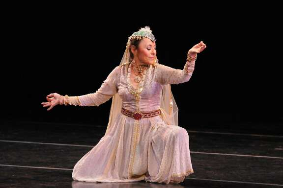 Antonia Minnecola will perform with Zakir Hussain at the 2017 San Francisco Ethnic Dance Festival, which runs July 8-16 at the War Memorial Opera House. Photo: Carl Sermon