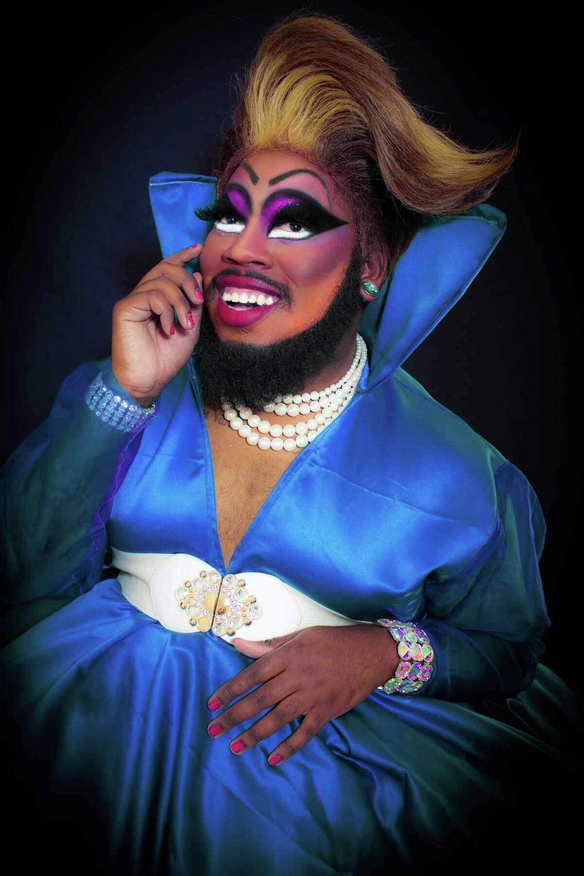 Houston drag performer Blackberri.