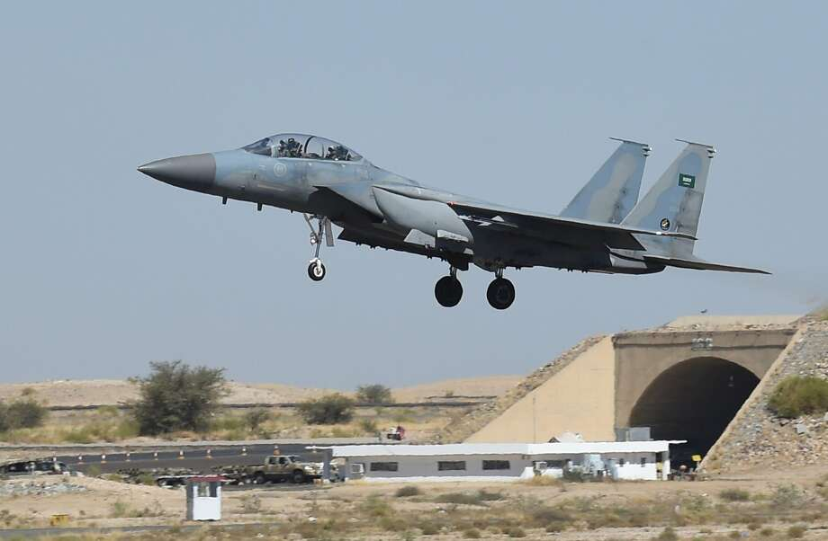 The U.S. has agreed to supply Qatar's air force with F-15 fighter jets worth $12 billion, underscoring Washington's commitment to their alliance despite a rift with other gulf allies. Photo: FAYEZ NURELDINE, AFP/Getty Images