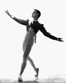 Carlos Carvajal dancing with the San Francisco Ballet