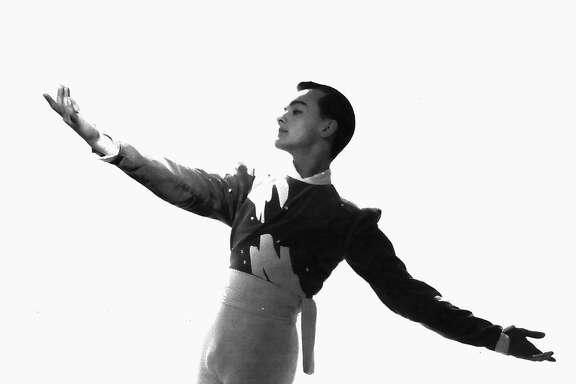 Carlos Carvajal dancing with the San Francisco Ballet