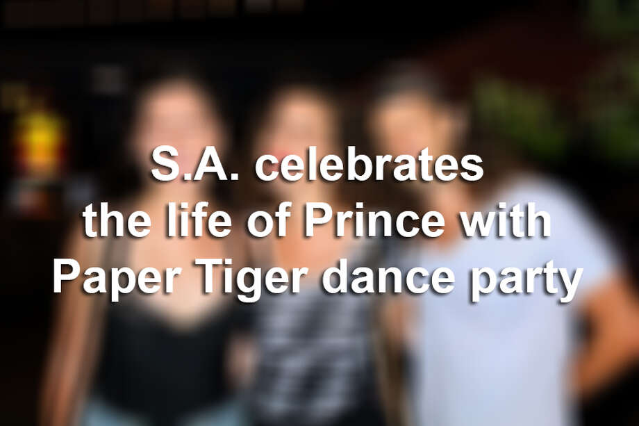 The Paper Tiger hosted a celebration to Prince Saturday night, June 4, 2016, with a dance party dedicated to the late artist. Prince died April 21, 2016 at his Paisley Park compound in Minnesota.