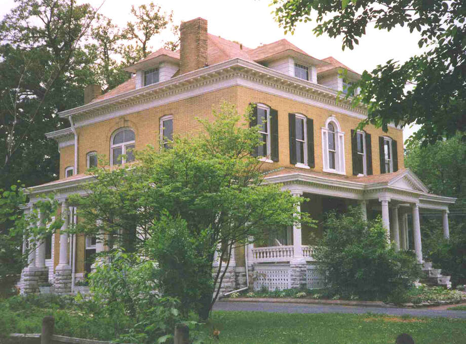 The Beall Mansion bed and breakfast in Alton. Photo: For The Edge