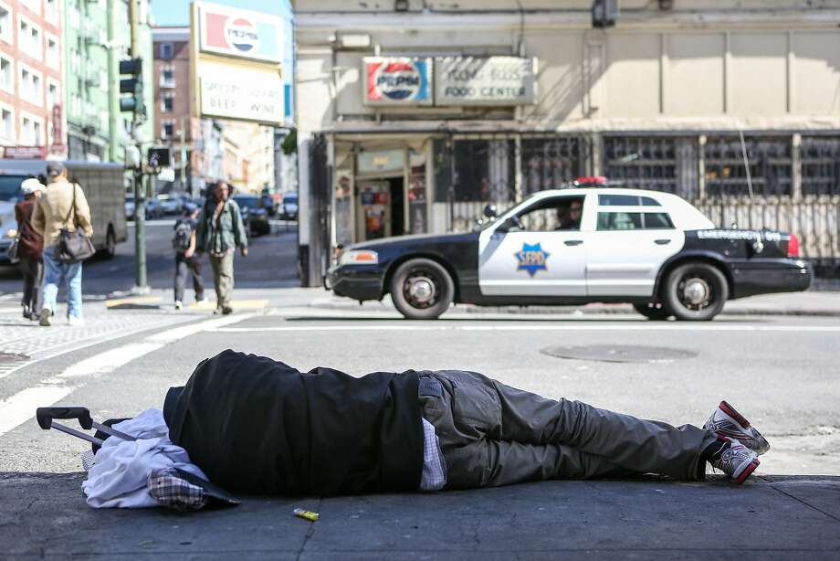 The dismaying sights of San Francisco, as seen by a visitor. Photo: Amy Osborne, Special To The Chronicle