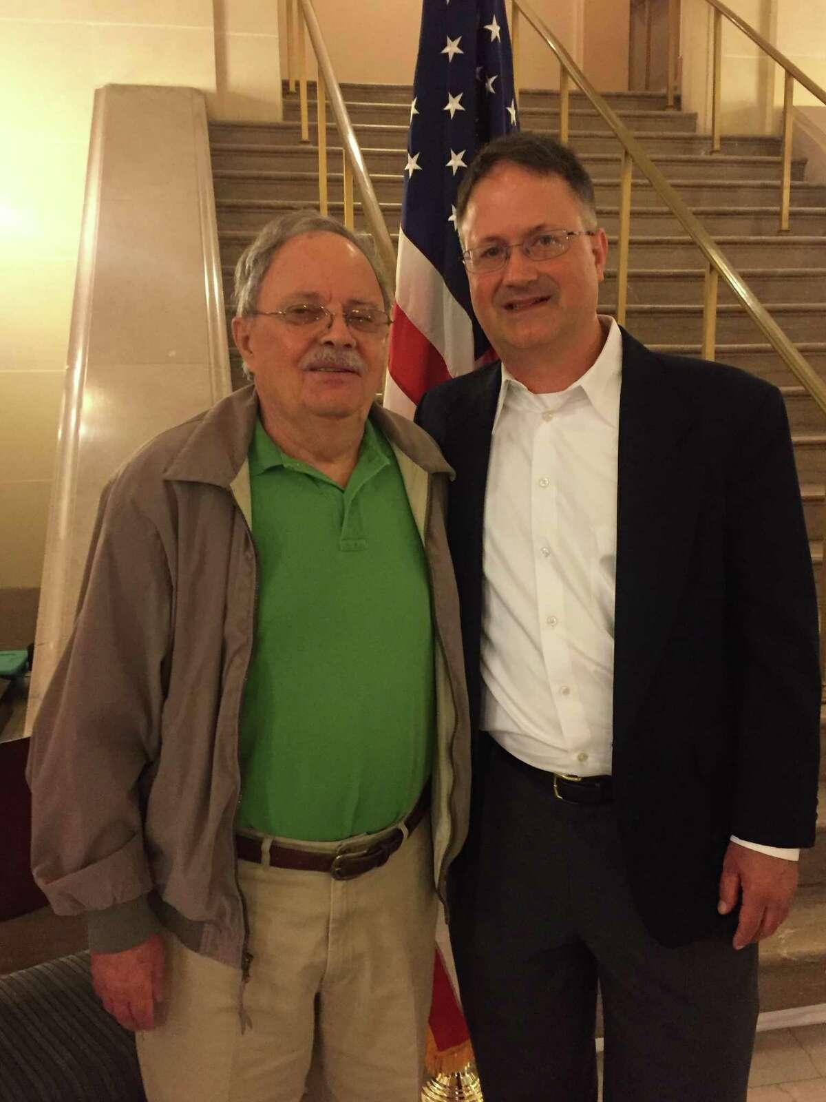 Frank and John DiCesare