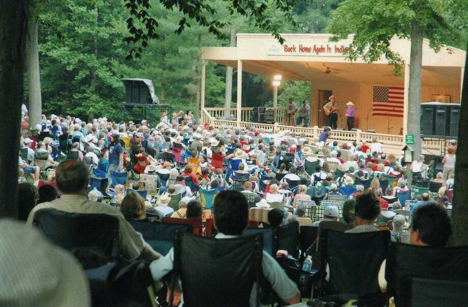 A scene from a previous Bill Monroe's Bean Blossom Bluegrass Festivals. Photo: For The Edge