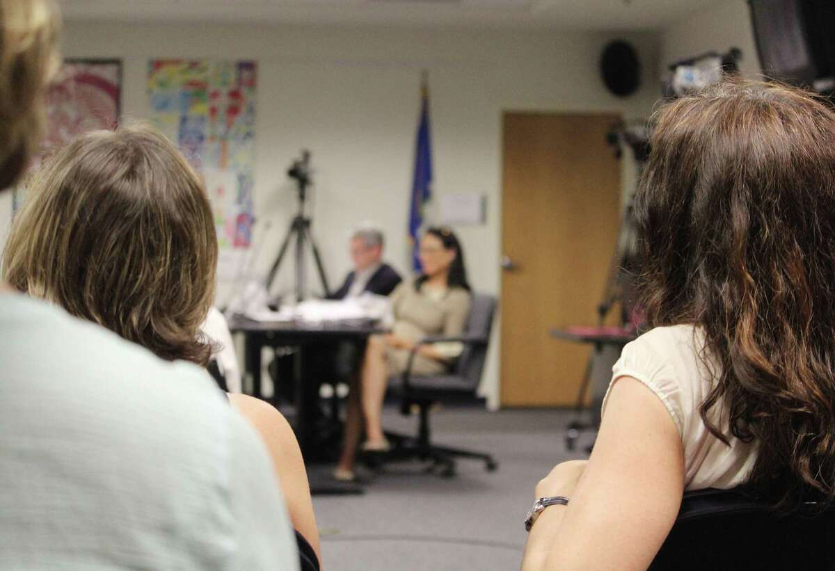 The Board of Education discussed elementary school class size June 13, 2017 in Fairfield, Conn.