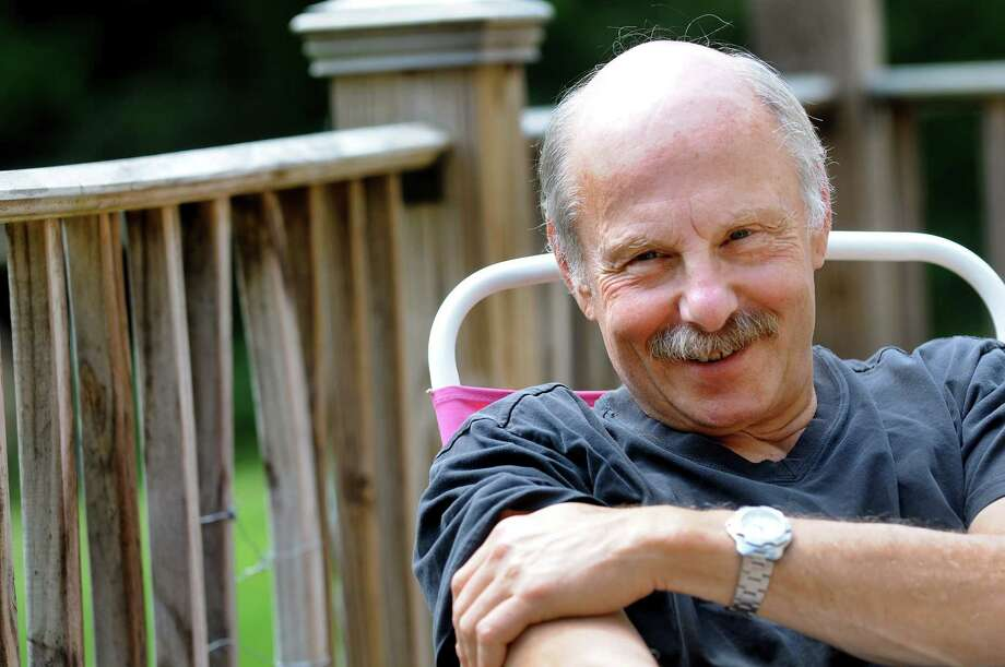 James Howard Kunstler on Tuesday, July 17, 2012, at his home in Greenwich, N.Y. (Cindy Schultz / Times Union) Photo: Cindy Schultz / 00018436A