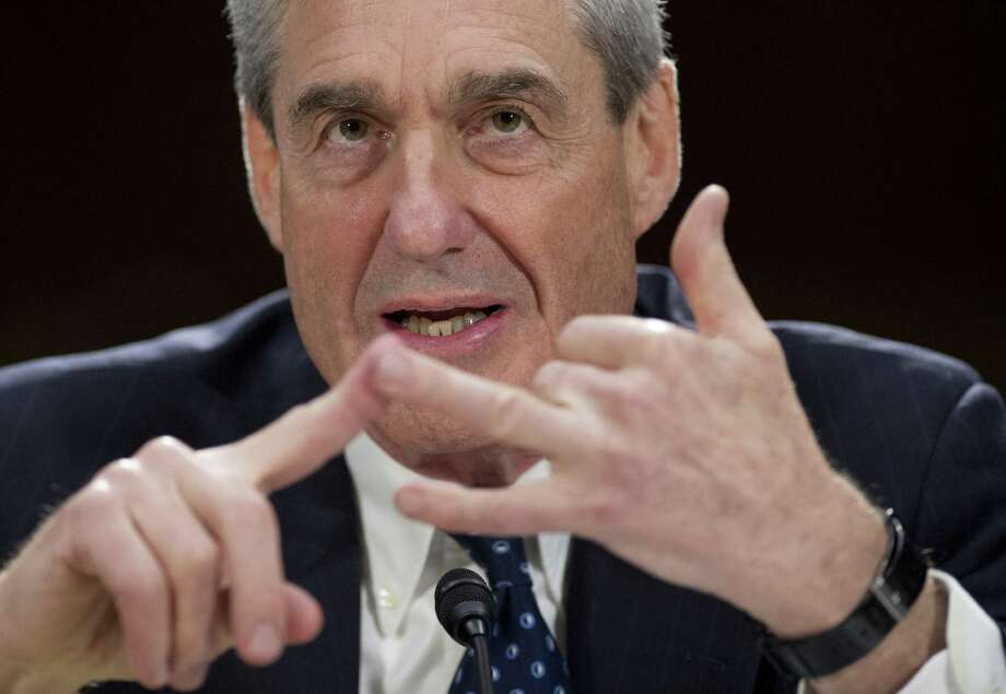 If President Trump were to fire Special Counsel Robert Mueller, a former FBI director, as some are urging, it would set off a firestorm that would consumer the presidency. Photo: SAUL LOEB /AFP /Getty Images / AFP or licensors