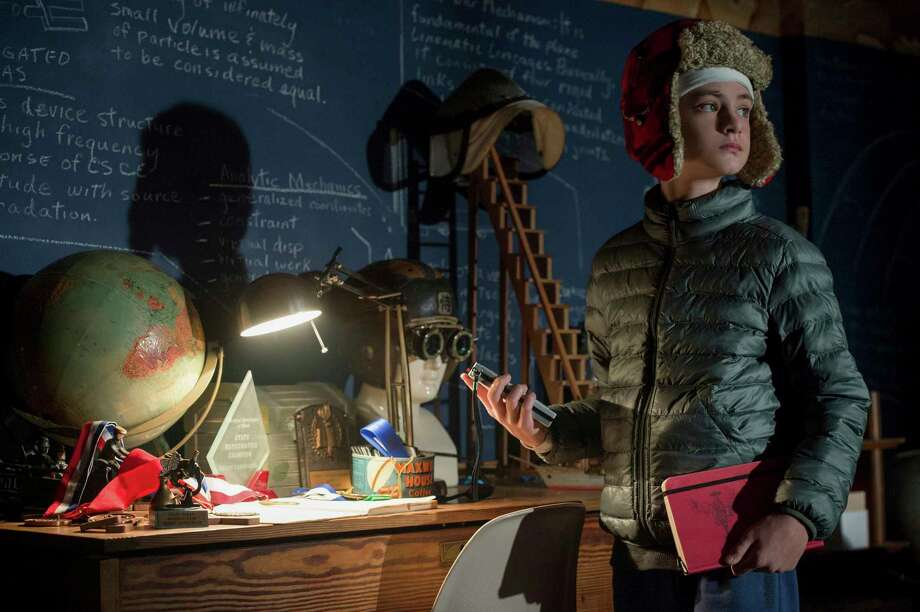 """This image released by Focus Features shows Jaeden Lieberher in a scene from """"The Book of Henry."""" (Jojo Whilden/Focus Features via AP) Photo: Jojo Whilden, HONS / © 2017 Focus Features LLC. All Rights Reserved."""
