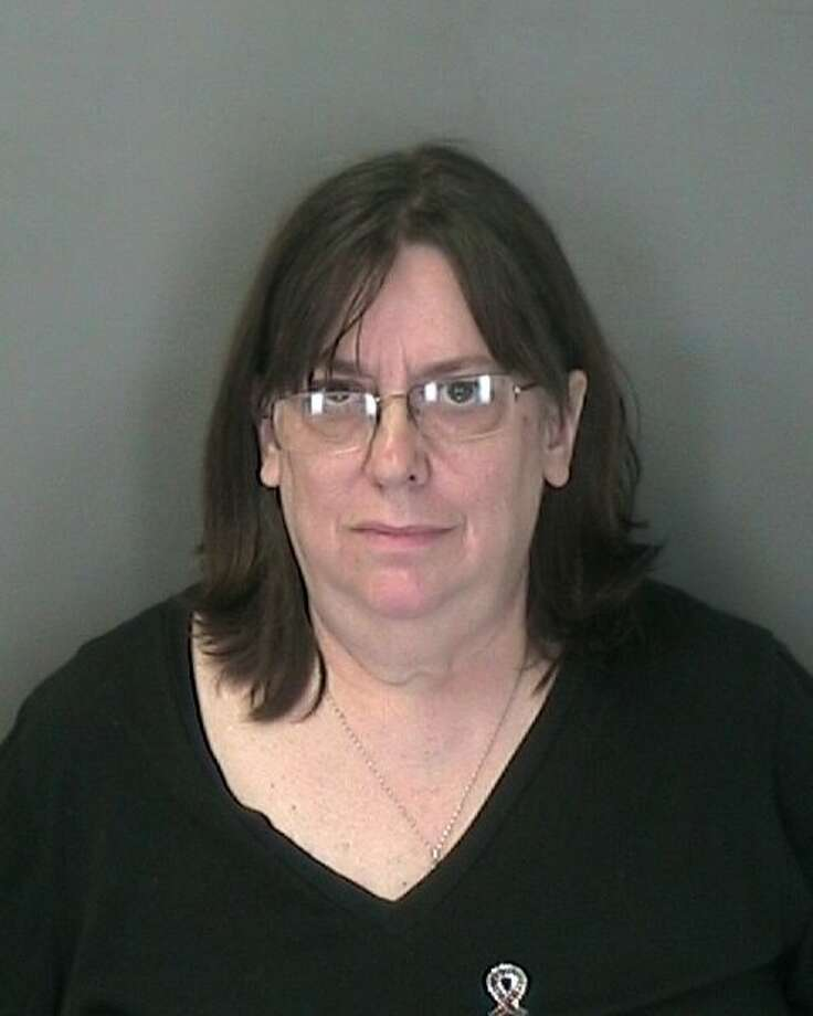 Colleen Mulson, 59, told police her name was Meagheen Guinness-Ryan and that she was 46. Warren County sheriff's officials say that's untrue and she's used 45 aliases over 35 years throughout the country.  Photo: (Warren County Sheriff's Department)