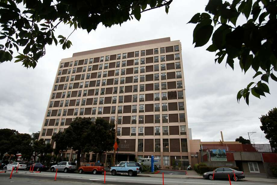 St. Luke's Hospital in the Mission District is slated for the chopping block. Long-term patients will go to other counties. Photo: Lea Suzuki, The Chronicle