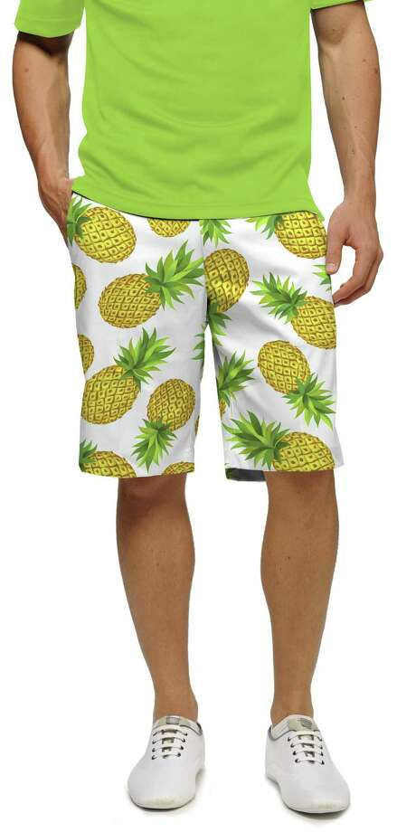 Above, pineapple pattern by Loudmouth, a California golf and lifestyle apparel company. Photo: DigitalShe / Contributed Photo / (C)2011 digitalShe PHOTOGRAPHY