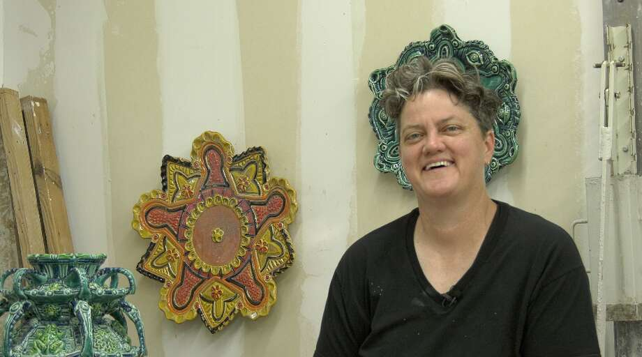 Diana Kersey is the owner and artist of Kersey Ceramics. Photo: By Lindsey Gawlik, San Antonio Express-News