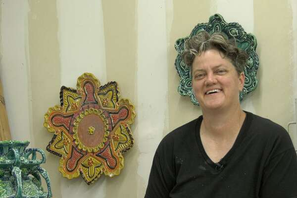 Diana Kersey is the owner and artist of Kersey Ceramics.