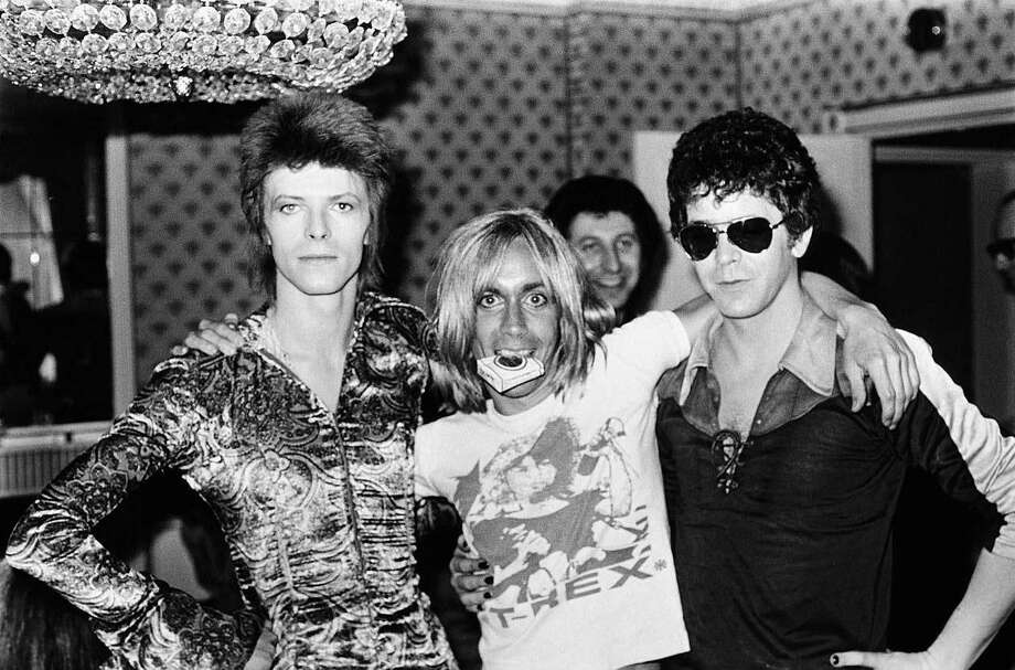 "The new documentary ""Shot!"" studies legendary pop music photographer, Mick Rock. He was a favorite of David Bowie, Iggy Pop  and Lou Reed. Photo: Contributed Photo"