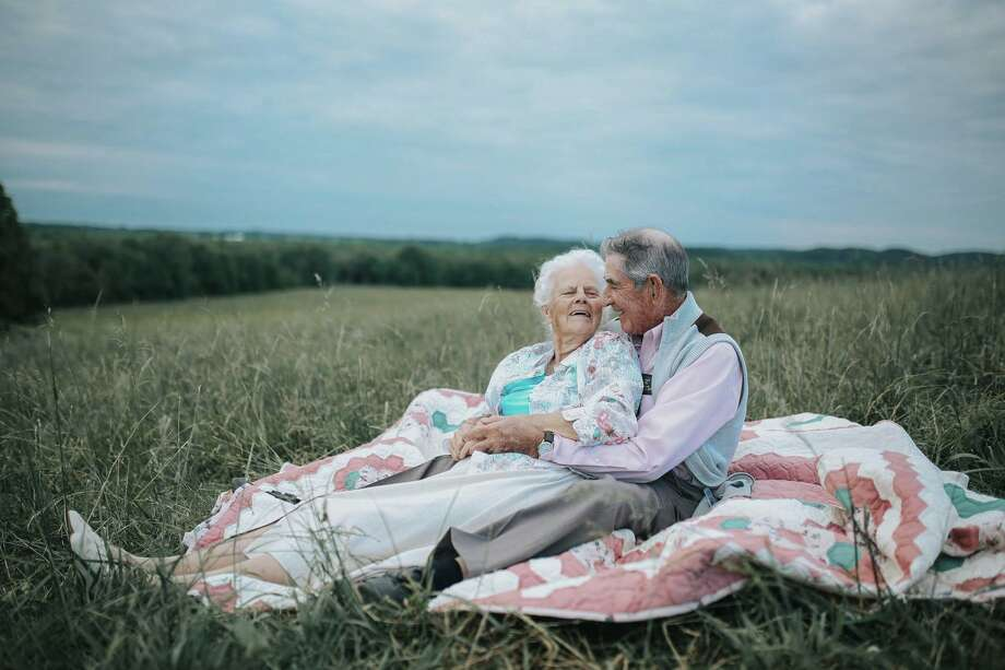 Donald and Ollie King have a remarkable love story that was recently captured in series of touching photos taken on their Kentucky farm. Photo: Paige Franklin Photography