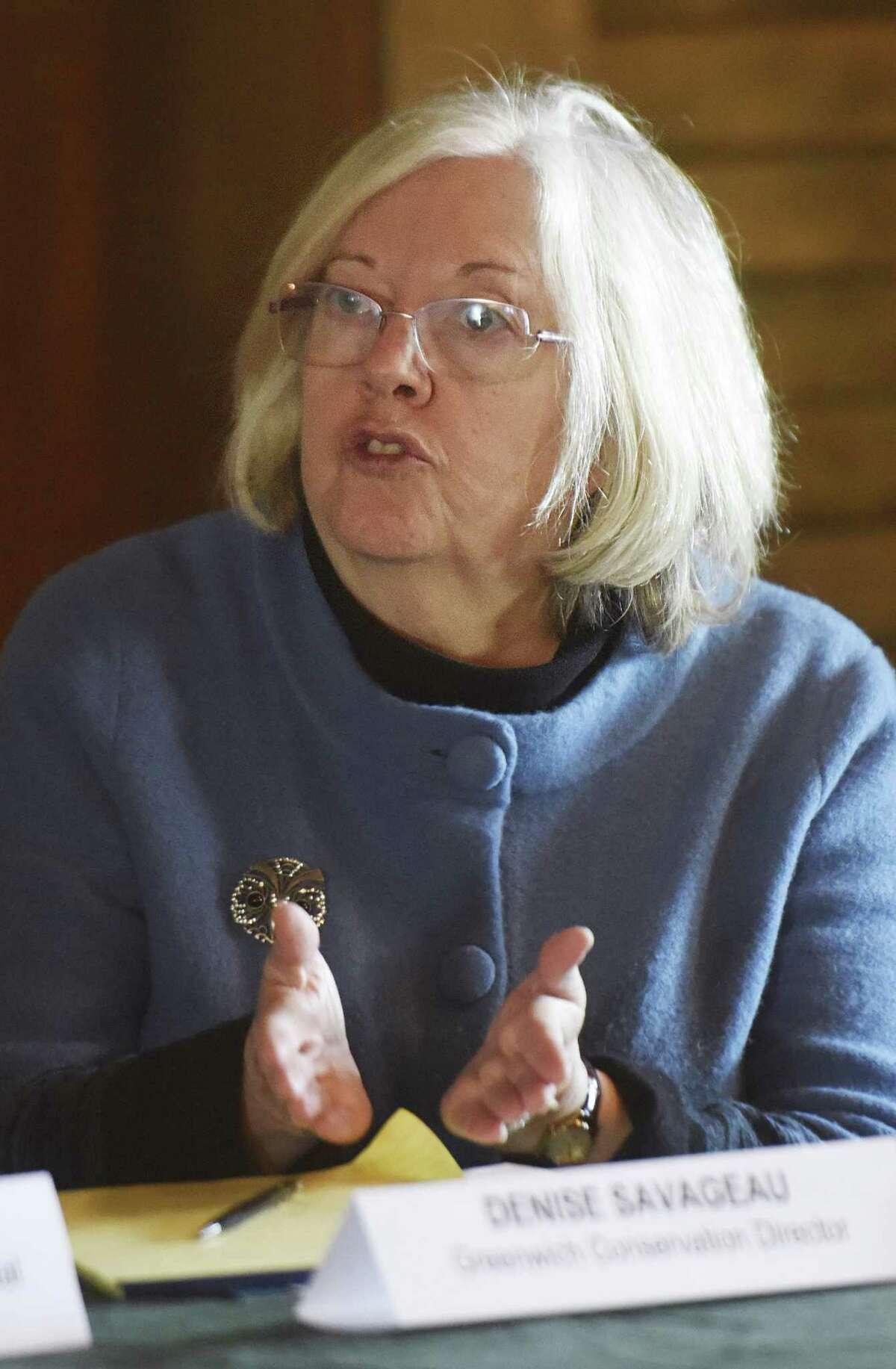 Denise Savageau, Greenwich Director of Greenwich Conservation