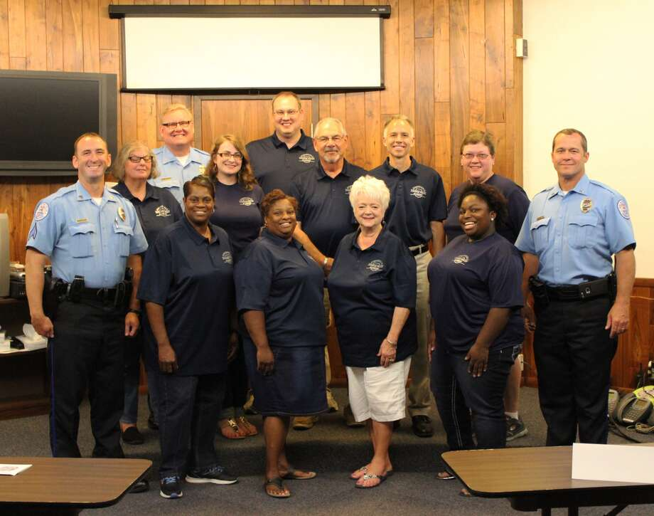 The Edwardsville Police Department's Citizen's Police Academy participants graduated tonight, Thursday, June 15. Following a 10-week program, the group took part in class sessions to gain a better understanding of law enforcement. Photo: Cody King • Cking@edwpub.net