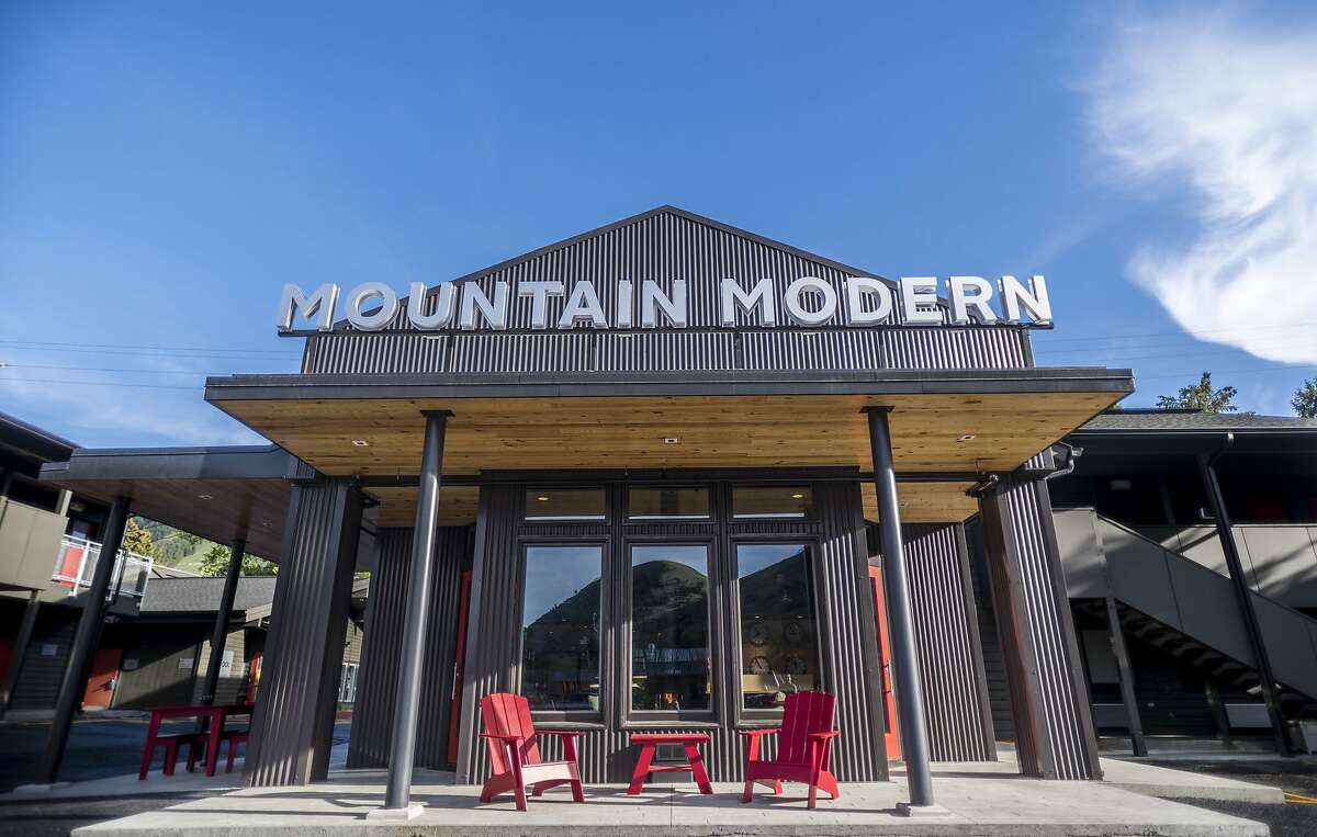 The new Mountain Modern Motel, a sweeping overhaul of the former Painted Buffalo Inn, brings contemporary style to downtown Jackson, Wyo.