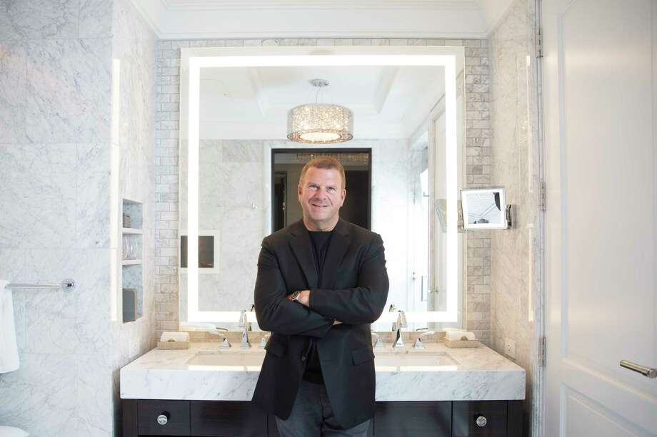 Chairman, CEO and owner of Landry's, Inc. Tilman Fertitta stands in the bathroom of a model room of his new Post Oak hotel Friday, June 2, 2017 in Houston. ( Michael Ciaglo / Houston Chronicle ) Photo: Michael Ciaglo, Staff / Michael Ciaglo