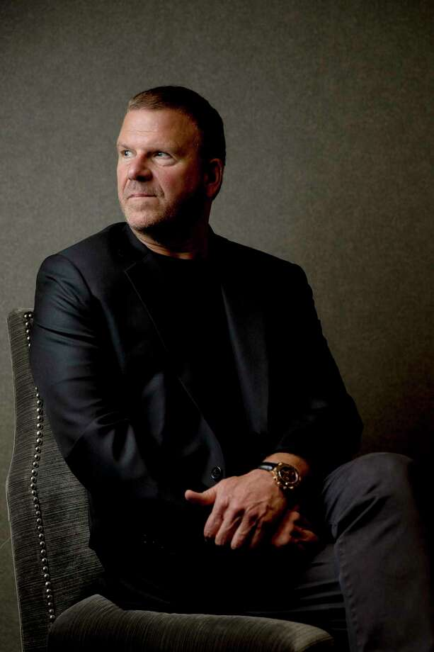 Chairman, CEO and owner of Landry's, Inc. Tilman Fertitta sits in a model room of his new Post Oak hotel Friday, June 2, 2017 in Houston. ( Michael Ciaglo / Houston Chronicle ) Photo: Michael Ciaglo, Staff / Michael Ciaglo