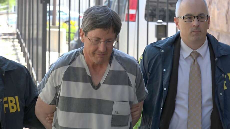 This frame grab from KSFY Television video shows polygamous sect leader Lyle Jeffs arriving at the Federal Courthouse Thursday, June 15, 2017 in Sioux Falls, S.D. Jeffs has been captured in South Dakota while apparently living out of his pickup truck after nearly a year on the run. Authorities had been hunting for Jeffs since he escaped home confinement in Utah on June 18, 2016, ahead of his trial in an alleged multimillion-dollar food stamp fraud scheme. (KSFY Television via AP) Photo: Associated Press
