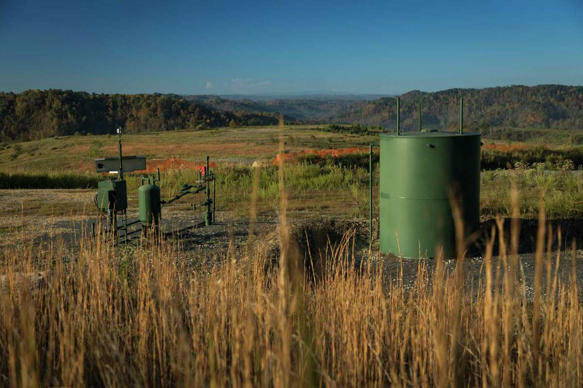 EnerVest is producing coalbed methane and natural gas in the Nora field in Virginia. The company is selling oil and gas holdings to fend off creditors.