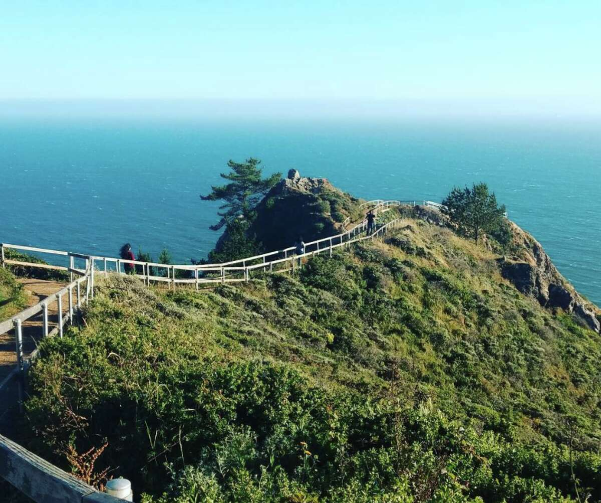 The hike along the Coastal Trail between Tennessee Valley and Muir Beach has stunning views of the Pacific Ocean.