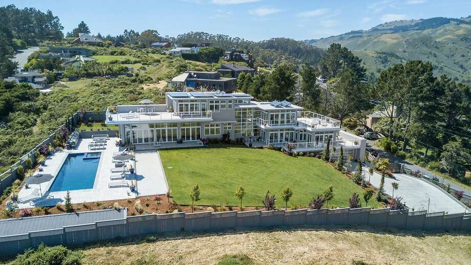 36 Starbuck Drive in Muir Beach is available for $11.7 million. Photo: Circle Visions
