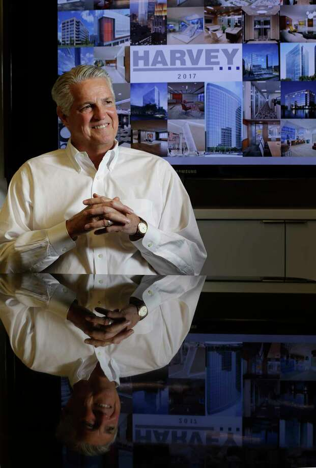 David E. Harvey Jr., CEO and chairman, joined his father's company in 1976.  Photo: Melissa Phillip, Staff / © 2017 Houston Chronicle