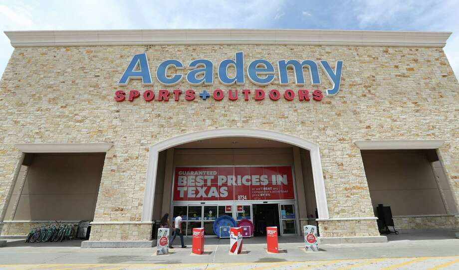 "FILE - An Academy Sports & Outdoors outlet in Houston, Texas. The Houston retailer laid off 100 employees in Katy, citing a need for ""greater efficiency."" Photo: Steve Gonzales, Staff / © 2017 Houston Chronicle"