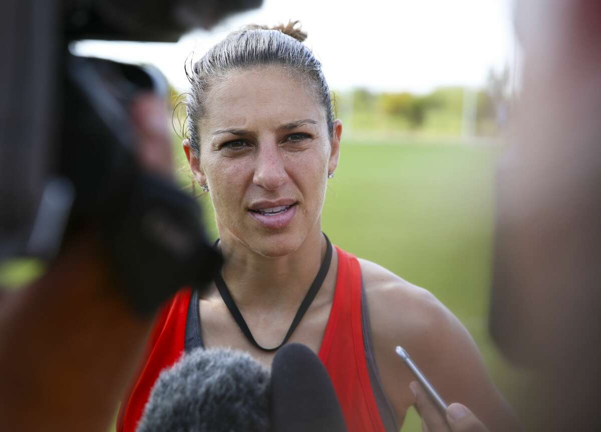 Carli Lloyd's three-season run with the Dash ended on Thursday when the club traded her and Canadian international Janine Beckie on Thursday during the NWSL Draft.