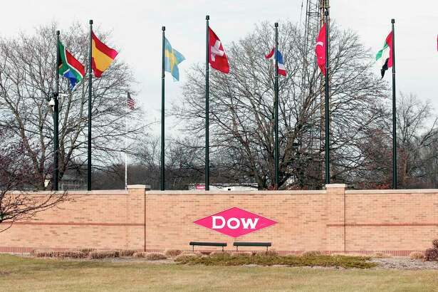 MIDLAND, MI - DECEMBER 10: The Dow Chemical headquarters is shown December 10th, 2015 in Midland, Michigan. Recent news reports have indicated a possible merger between Dow and DuPont. (Photo by Bill Pugliano/Getty Images)