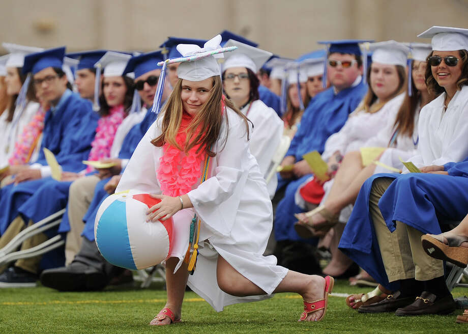 The Fairfield Ludlowe High School graduation in Fairfield, Conn. on Thursday, June 15, 2017. Photo: Brian A. Pounds, Hearst Connecticut Media / Connecticut Post