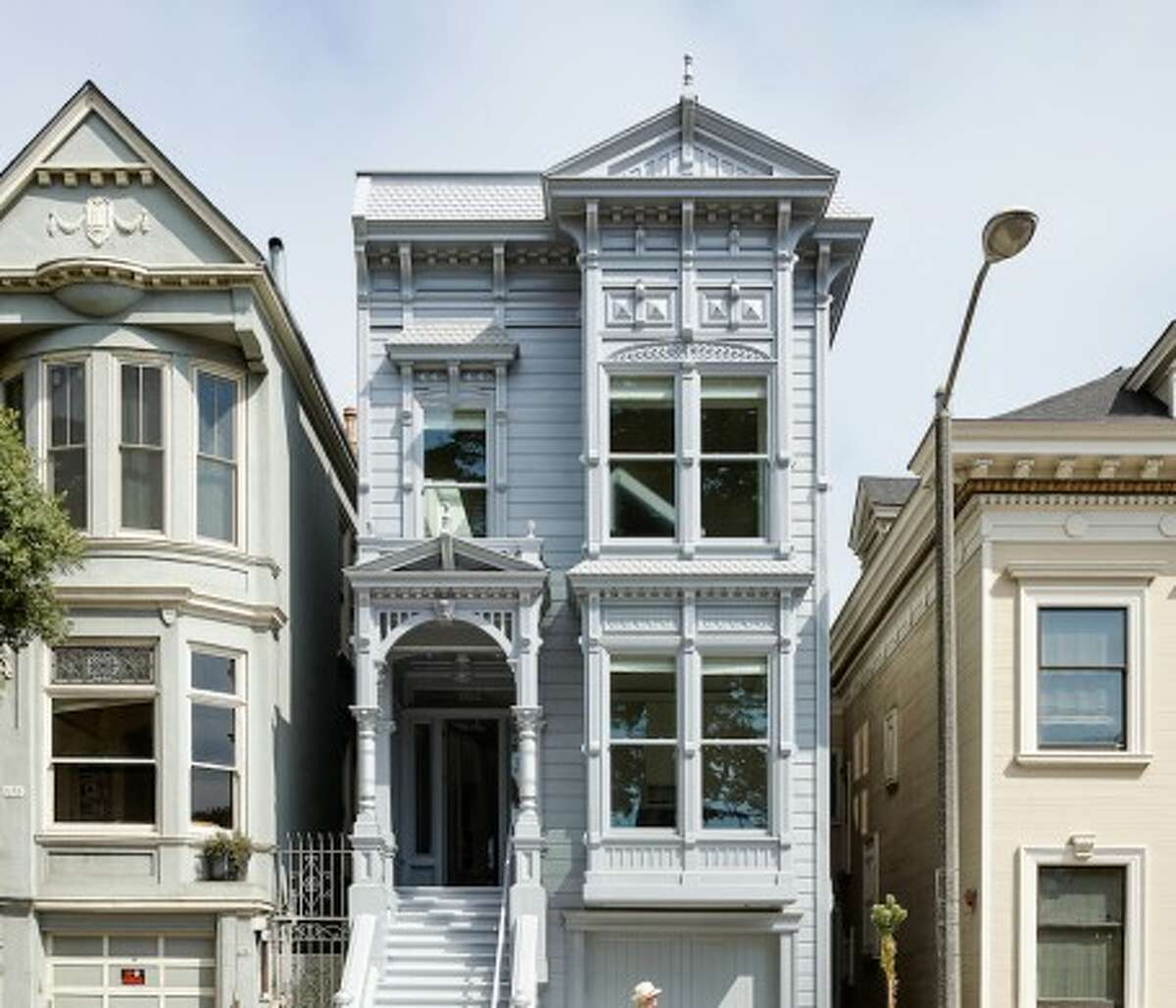 A look inside the modernized Stick-style Victorian, originally built in 1889.