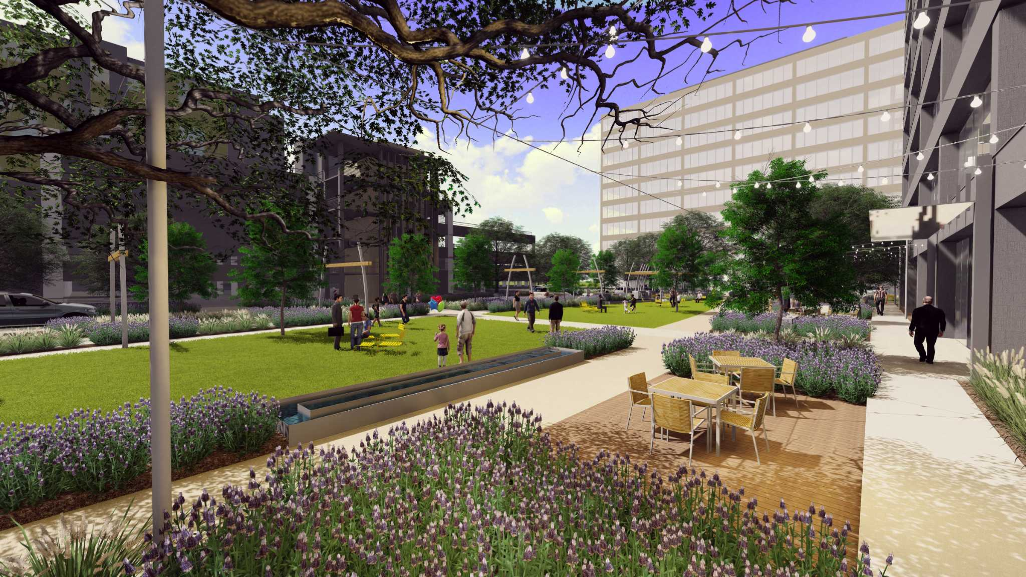 Projects add green space to office environments