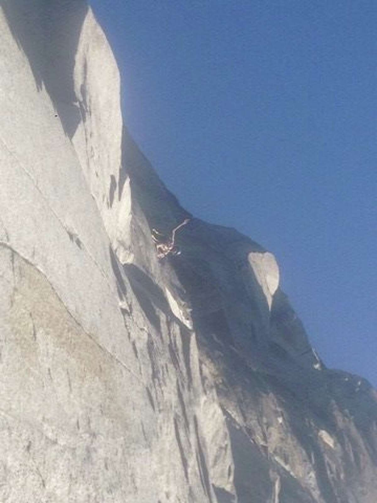 For the first time ever, climbers ascend El Capitan naked