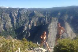 On June 6, Leah Pappajohn, 29, and Jonathan Fleury, 28, scaled Yosemite's El Capitan naked.