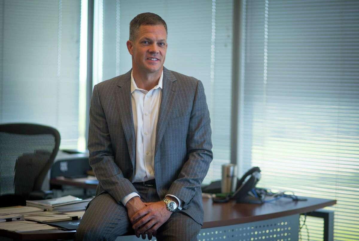 Spark Energy CEO Nathan Kroeker in his office at Spark Energy, Thursday, May 25, 2017, in Houston. (Mark Mulligan / Houston Chronicle)