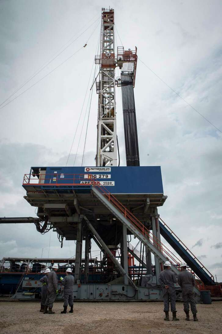 Patterson-UTI APEX-XK 1500 oil rig drill. Tuesday, May 9, 2017, near College Station. ( Marie D. De Jesus / Houston Chronicle )