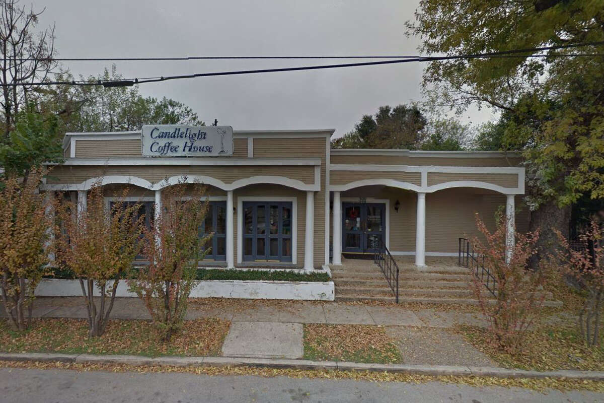 The Candlelight Coffee House: 3011 N. St Mary's, San Antonio, Texas 78212Date: 06/08/2017 Score: 82Highlights: Floor at bar needs to be repaired (inspector