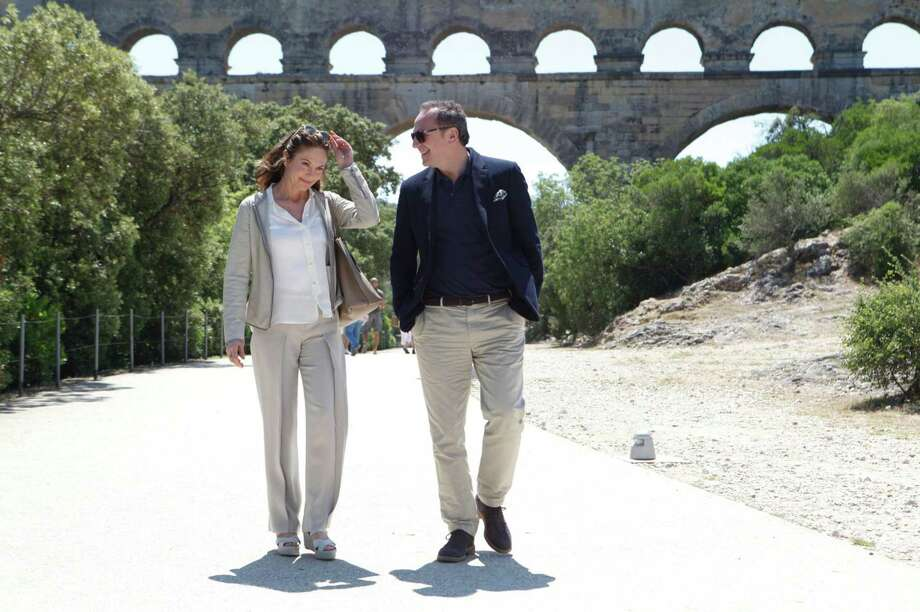 "Diane Lane and Arnaud Viard in ""Paris Can Wait."" Photo: Sony Pictures / Philadelphia Inquirer"