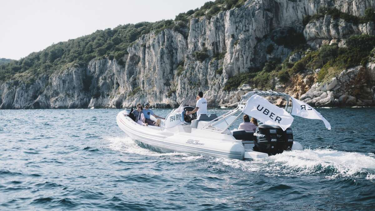 Beginning June 26, Uber will be offering on-demand speedboat service along the Croatian coastline.