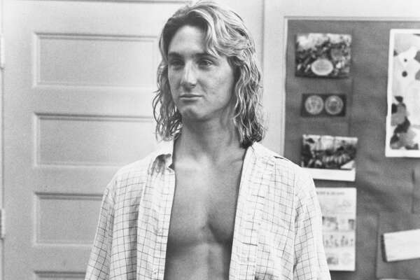 All Jeff Spicoli (Sean Penn) wants out of life in the 1982 comedy Fast Times at Ridgemont High is a good buzz, good surf, and a good time. (Photo by �� John Springer Collection/CORBIS/Corbis via Getty Images)