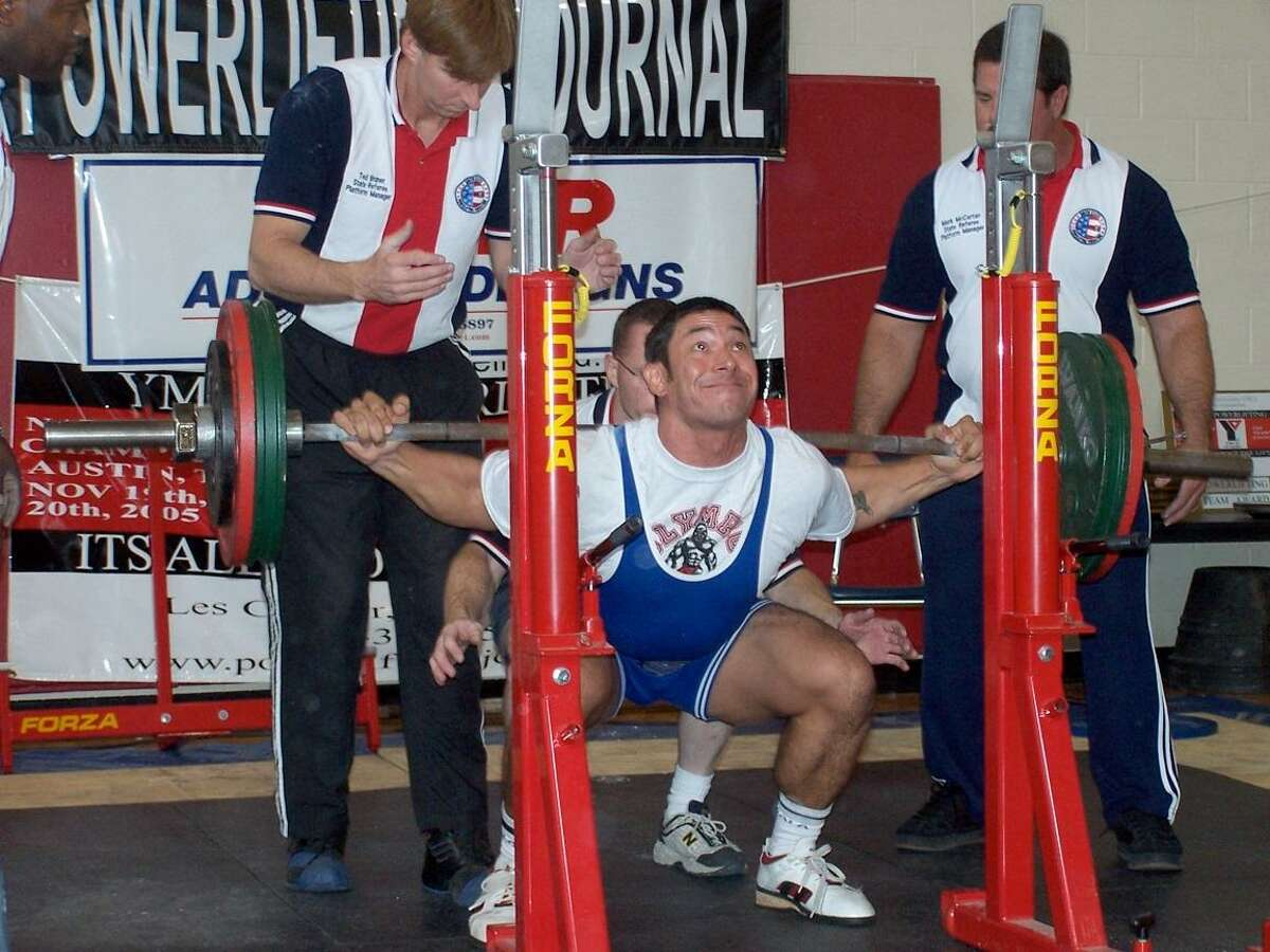 At the 2005 Texas Powerlifting competition, Ron Nirenberg placed first in the 220-pound division
