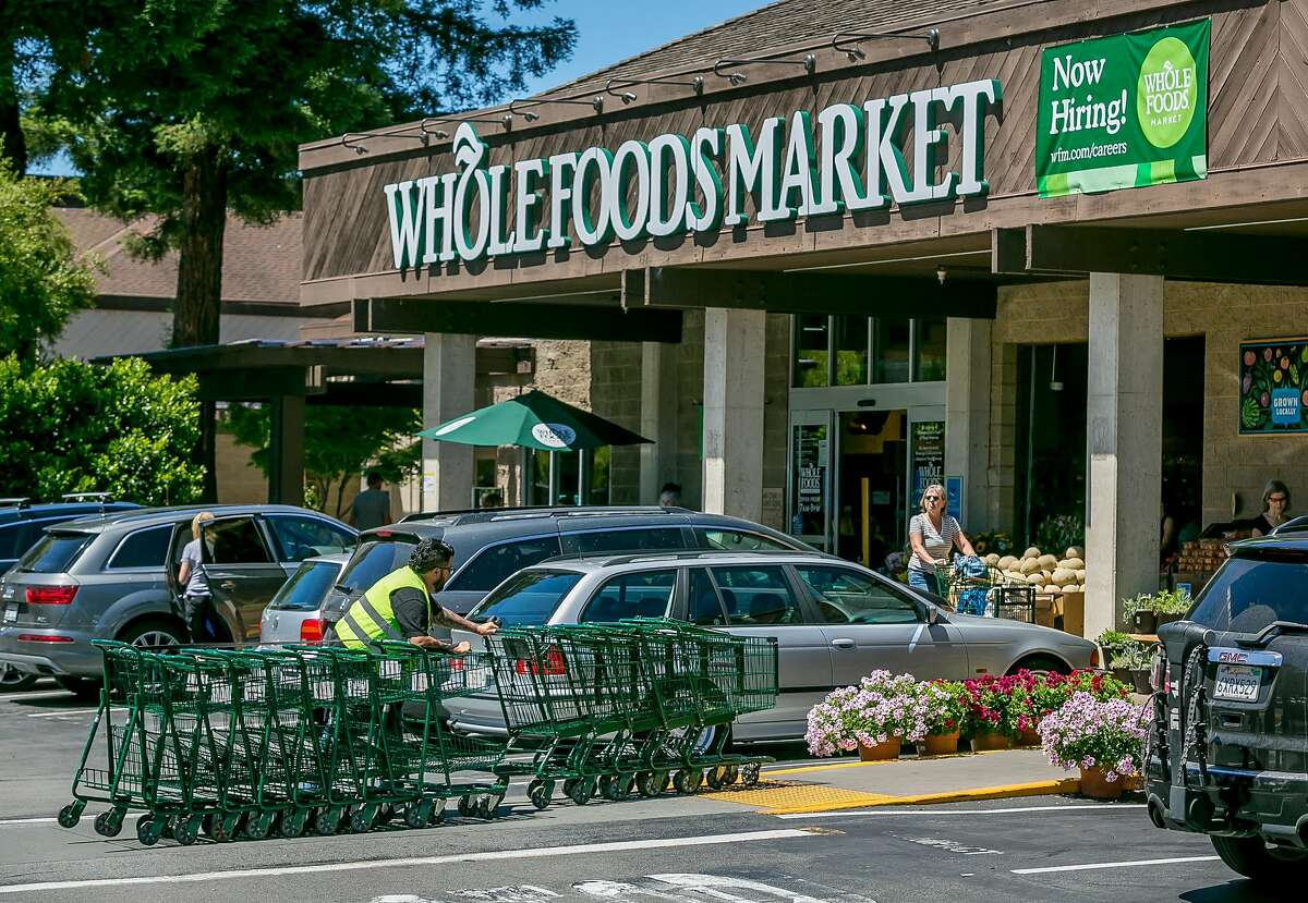 Whole Foods Market in Mill Valley, Calif. is seen on June 16th, 2017.