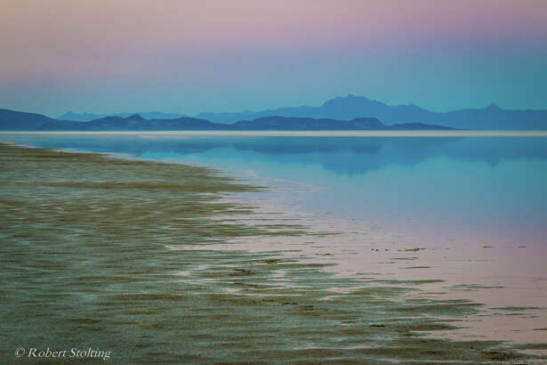 After heavy winter storms, an ephemeral lake formed in Nevada's Black Rock Desert.  Robert Stolting  photographed its natural beauty in June 2017.