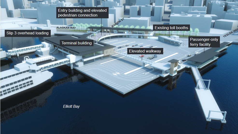 Massive 6 Year Seattle Ferry Terminal Replacement Project