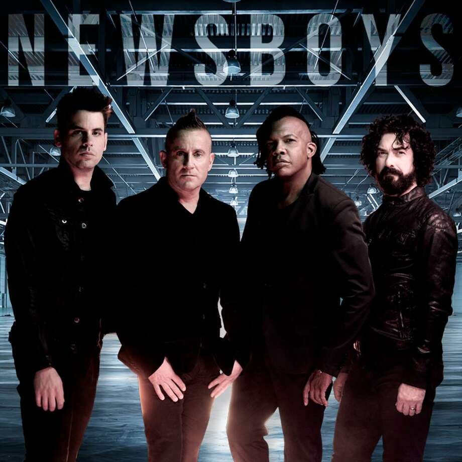 The Newsboys perform at the Palace Theatre in Stamford on Sunday, June 25. Photo: Newsboys / Contributed Photo